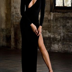 Brand New Abyssbyabby stunning black dress!